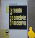 Elemente de geometrie proiectiva N. Mihaileanu