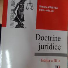 Doctrine Juridice - Simona Cristea ,548621
