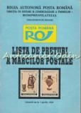 Cumpara ieftin Lista De Preturi A Marcilor Postale. Valabila De La 1 Aprilie 1994