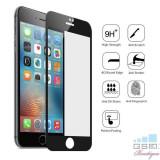 Geam Folie Sticla Protectie Display iPhone 7 4D Negru, Apple