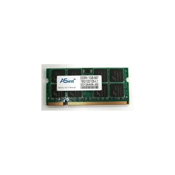 Memorie laptop ASINT 1GB-667 SSY264M8-J6E