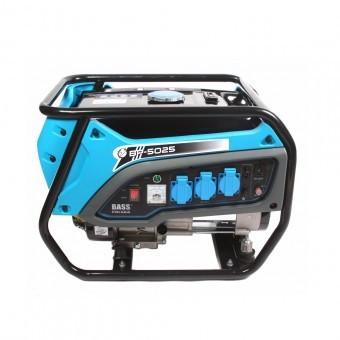 Generator curent, monofazat, Bass BS-5025, benzina, 4 timpi, 3500 W, AVR, 3x220V AC, 1x12V DC foto
