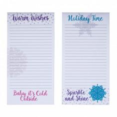 Set 2 blocuri notite Holiday Time