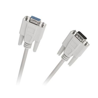 Cablu video VGA KPO3712-1.5, tata - mama, 1.5 m, Negru foto