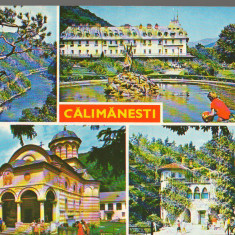 CPIB 15392 - CARTE POSTALA - CALIMANESTI, MOZAIC