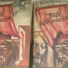 F. M. Dostoievski - Fraţii Karamazov ( 2 vol. )