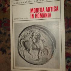 Moneda antica in Romania 48pagini+51ilustratiia/an1969- Constantin Preda