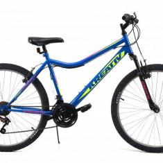 Bicicleta Mtb Kreativ 2604 Albastru M 26 inch, V-brake