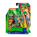 Cumpara ieftin Figurina Testoasele Ninja Michelangelo Battle Shell