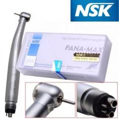 Turbina NSK PANA MAX 4 gauri E-generator LED Push Button Rulmenți Ceramici