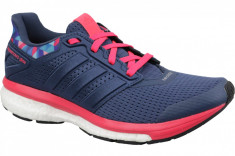 Pantofi alergare Adidas Supernova Glide 8 GFX W AQ5059 pentru Femei, 40, Albastru