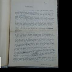 Manuscris/ Articol scris si semnat de V Kernbach - 2 pag