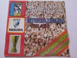 Program meci fotbal SPORTUL Studentesc Bucuresti-Inter Milano(1984)