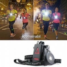Kit Lumini Avertizare pentru Alergatori Run Lights