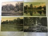 Lot Buziaș - patru cărți poștale vechi