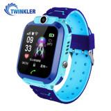 Cumpara ieftin Ceas Smartwatch Pentru Copii Twinkler TKY-Q13 cu Functie Telefon, Localizare GPS, Istoric traseu, Apel de Monitorizare, Camera, Joc Matematic, Albastr