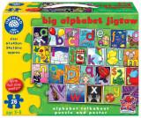 Puzzle De Podea In Limba Engleza Invata Alfabetul (26 Piese - Poster Inclus) Big Alphabet Jigsaw, orchard toys
