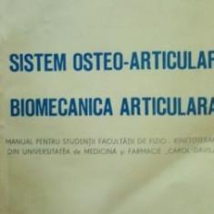 Sistem osteo-articular Biomecanica articulara