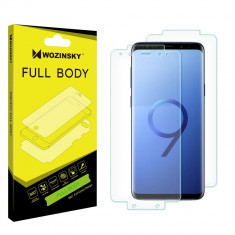 Folie Samsung Galaxy S9 Plus, Hydrogel Auto-Reparare / Self-Repair , 360°