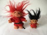 2 Vintage DAM troll / troli 1986 China, 12 si 7 cm