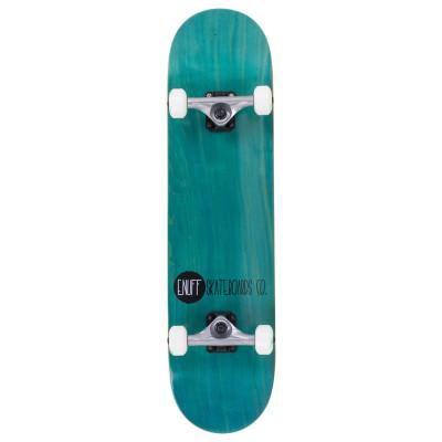 Skateboard Enuff Logo Stain teal 31,5x7,75inch foto
