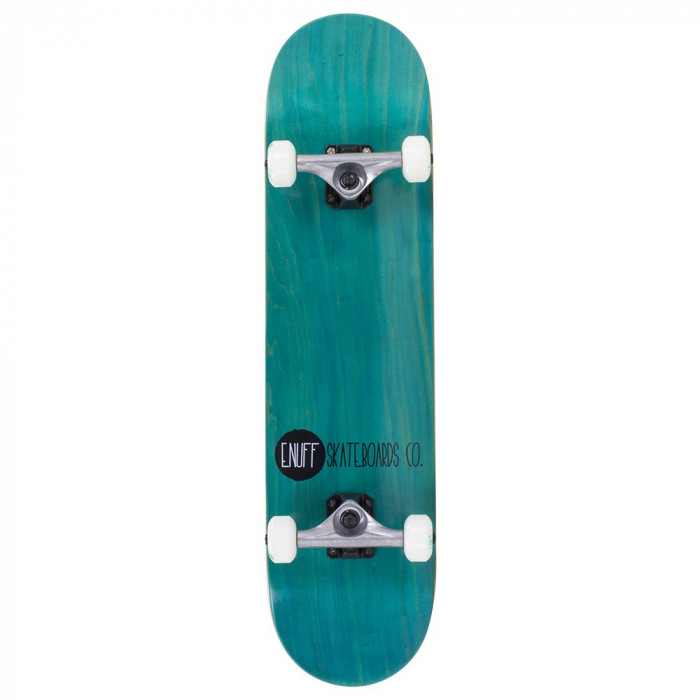 Skateboard Enuff Logo Stain teal 31,5x7,75inch