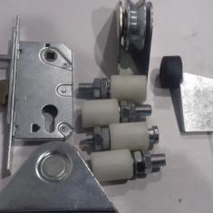 Kit complet poarta culisanta 4m deschidere pentru cornier lot45