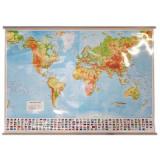 Harta - Lumea fizica |