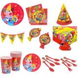 Set accesorii pentru petrecere, model Clovn