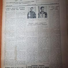 sportul popular 3 aprilie 1954-scrima,motocros,baschet,handbal,rugby