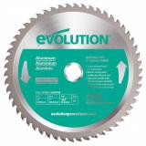 Cumpara ieftin Disc pentru fierastrau circular, taiere aluminiu Evolution EVOEVOBLADE230AL-0460, O230 x 25.4 mm, 80 dinti