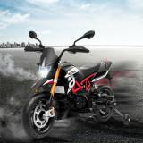 Motocicletă pentru copii 12V Aprilia, Rosu