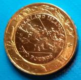 Falkland  2 pound 2004 UNC bimetal