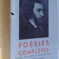 POESIES COMPLETES par A. DE MUSSET , 1957