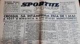 Ziar SPORTUL POPULAR 30 04 1946