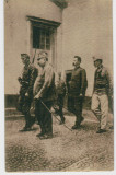 "WW1 ITALIAN HERO CESARE BATTISTI ""ON THE WAY TO MARTYRDOM"" OLD VINTAGE POSTCARD"