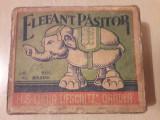 Cutie jucarie romaneasca comunista Elefant pasitor