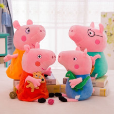 Set jucarii plus Peppa Pig / Purcelusa Peppa 4 buc