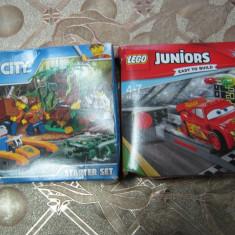 Set 2 buc LEGO City starter set + Juniors