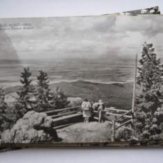 Carte postala - Poiana Brasov, vedere spre Lacul Postavarul, Circulata, Fotografie