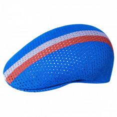 Basca Kangol Mesh Stripe 504 Albastru (L) - Cod 92097
