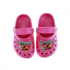 Papuci din cauciuc pentru fetite Minnie Mouse Setino 870-200R, Roz
