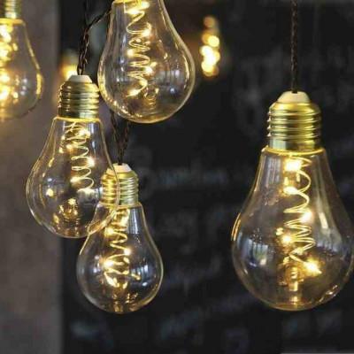 Ghirlanda luminoasa 10 becuri cu Micro-LED, lungime 2,25 metri foto