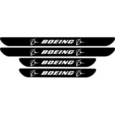 Set protectie praguri Boeing foto