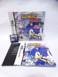 Joc consola Nintendo DS 2DS 3DS - Sonic Rush - complet, Actiune, Toate varstele, Single player