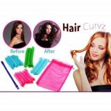 Cumpara ieftin Bigudiuri spiralate Hair Curvz, 16 Bucati, 2 Betisoare
