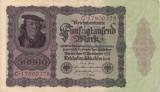 GERMANIA 50.000 marci 1922 VF+!!!