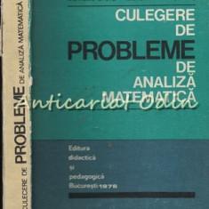 Culegere De Probleme De Analiza Matematica - Mariana Craiu, Marc