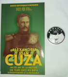 10 lei 2020 Argint masiv moneda proof Al I Cuza, cu certificat