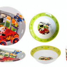 Set serviciu masa din portelan pentru copii Competitorii, 010796